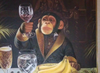 Wine-loving Chimps